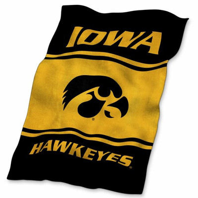 Iowa Hawkeyes Ultrasoft Blanket | Logo Chair | 155-27