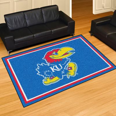 Kansas Jayhawks Area Rug 5' x 8' | Fanmats | 6912