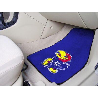 Kansas Jayhawks Carpet Floor Mats | Fanmats | 5450