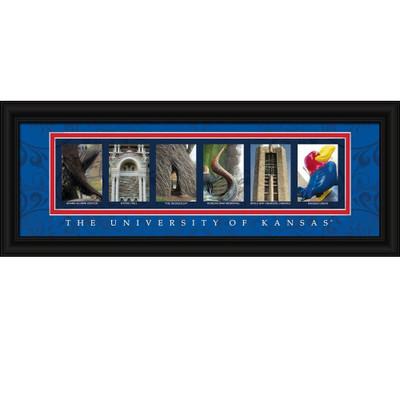 Kansas Jayhawks Letter Art | Get Letter Art | CLAL1B18KANS