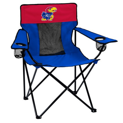 Kansas Jayhawks Elite Tailgate Chair | Logo Chair | 157-12E