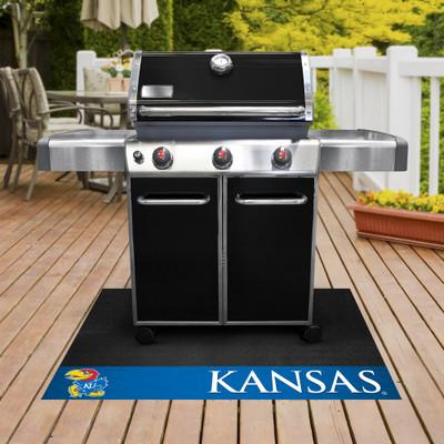 Kansas Jayhawks Grill Mat | Fanmats | 12121