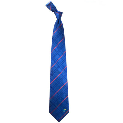 Kansas Jayhawks Oxford Woven Silk Tie | Eagles Wings | 4869