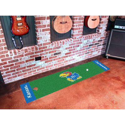 Kansas Jayhawks Putting Green Mat | Fanmats | 9071