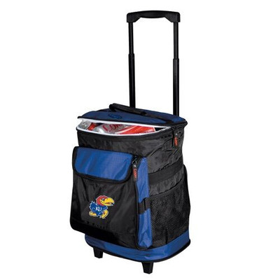 Kansas Jayhawks Rolling Cooler | Logo Chair | 157-57