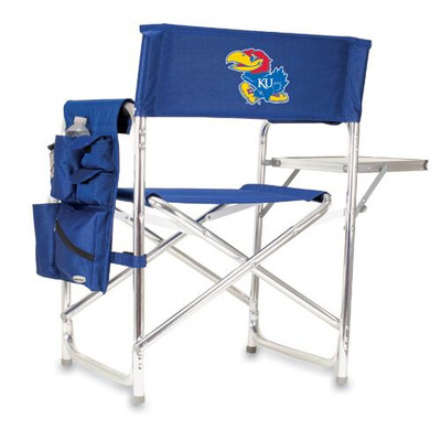 Kansas Jayhawks Sports Chair | Picnic Time | 809-00-138-244-0