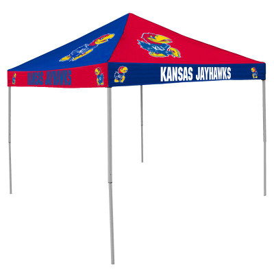Kansas Jayhawks Tailgate Tent | Logo Chair | 157-42C