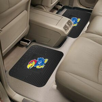 Kansas Jayhawks Utility Car Mats Set of Two | Fanmats | 12283