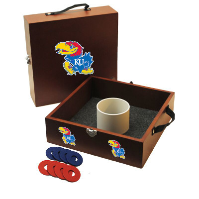Kansas Jayhawks Washer Toss | Wild Sports | WT-D-KAN