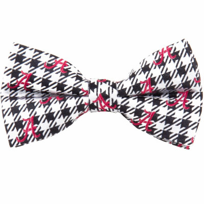 Alabama Crimson Tide Bow Tie Houndstooth | Eagles Wings | 9842