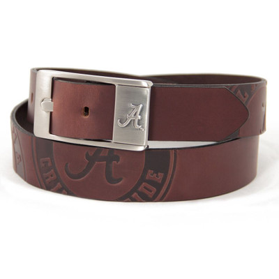 Alabama Crimson Tide Brandish Brown Belt | Eagles Wings | BBELTALA
