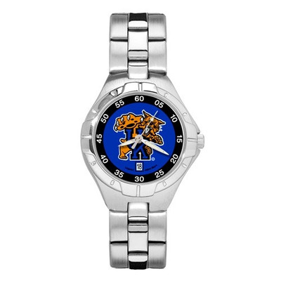 Kentucky Wildcats Women's Chrome Alloy Watch | Logo Art | UK119