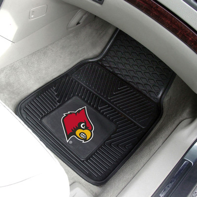 Louisville Cardinals Heavy Duty Car Mats | Fanmats | 8916