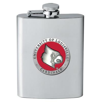 Louisville Cardinals Flask | Heritage Pewter | FSK10186ER