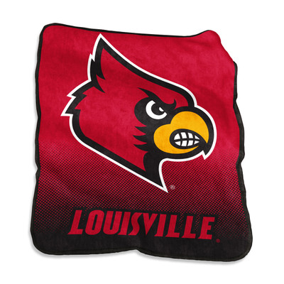 Louisville Cardinals Raschel Throw Blanket | Logo Chair | 161-26A
