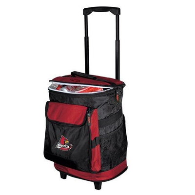 Louisville Cardinals Rolling Cooler | Logo Chair | 161-57B-1