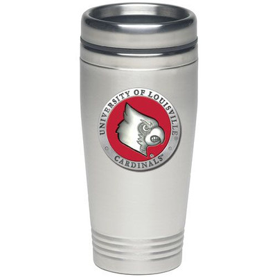 Louisville Cardinals Thermal Mug | Heritage Pewter | TD10186ER