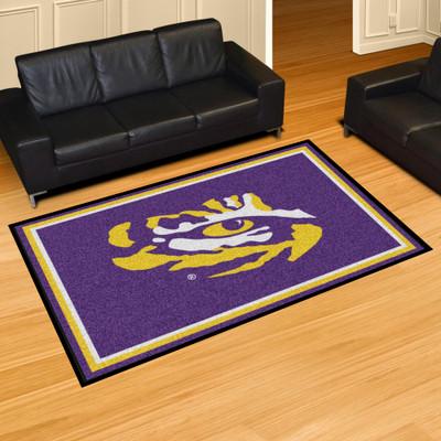 LSU Tigers Area Rug 5' x 8' | Fanmats | 6289