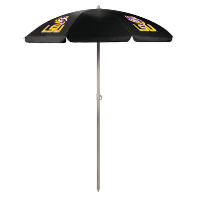 LSU Tigers Beach Umbrella | Picnic Time | 822-00-179-294-0