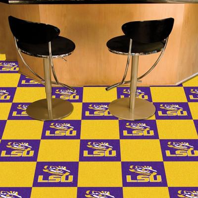 LSU Tigers Carpet Tiles | Fanmats | 8515