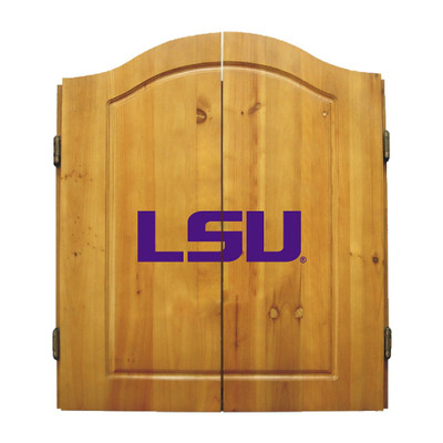 LSU Tigers Dart Board Cabinet | Imperial International | 58-4005