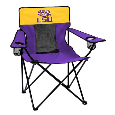 LSU Tigers Elite Tailgate Chair | Logo Chair | 162-12E
