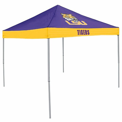LSU Tigers Canopy Tailgate Tent | Logo Chair | 162-39E