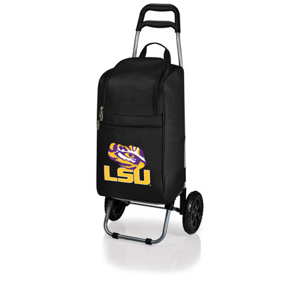 LSU Tigers Rolling Cart Cooler | Picnic Time | 545-00-175-294-0