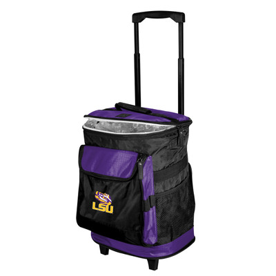 LSU Tigers Rolling Cooler | Logo Chair | 162-57B-1