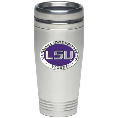 LSU Tigers Thermal Mug | Heritage Pewter | TD10121E