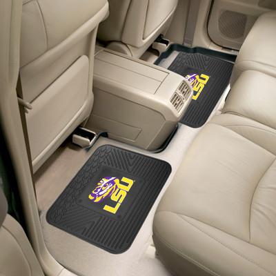 LSU Tigers Utility Car Mats Set of Two | Fanmats | 12261