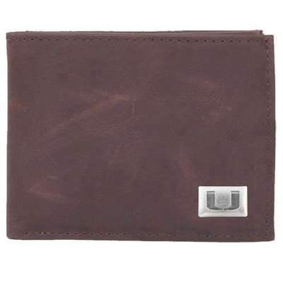 Miami Hurricanes Bi-Fold Wallet | Eagles Wings | 2607