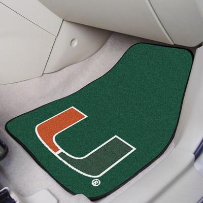 Miami Hurricanes Carpet Floor Mats | Fanmats | 5456