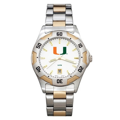 Miami Hurricanes Men's All Pro Watch | Logo Art | UMF153