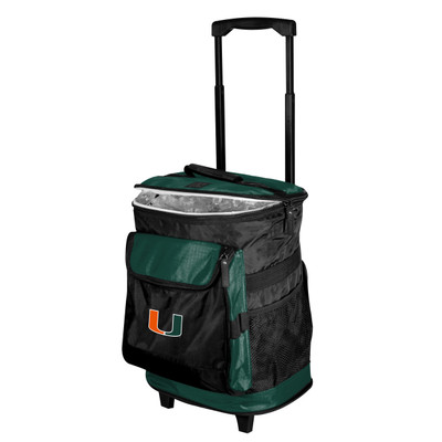 Miami Hurricanes Rolling Cooler | Logo Chair | 169-57B-1