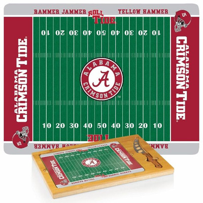 Alabama Crimson Tide Icon Cheese Tray | Picnic Time | 910-00-505-004-0