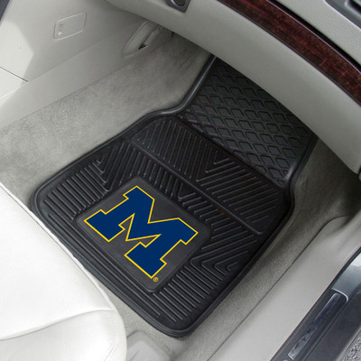 Michigan Wolverines Heavy Duty Car Mats | Fanmats | 8748