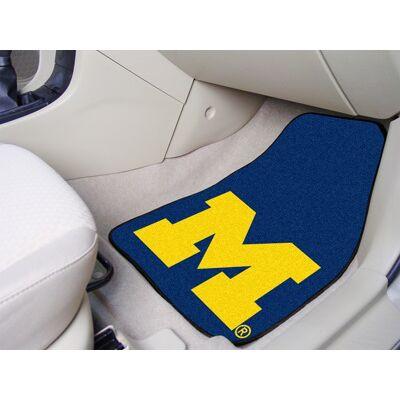 Michigan Wolverines Carpet Floor Mats | Fanmats | 5458