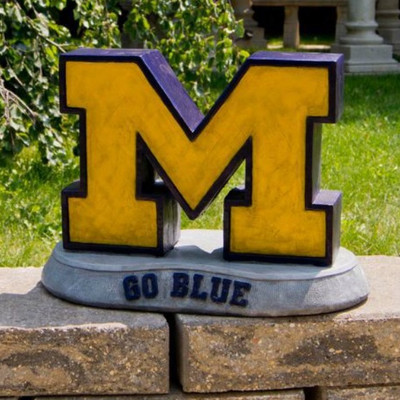 Michigan Wolverines Mascot Garden Statue | Stonecasters | 2984HT