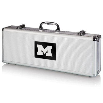 Michigan Wolverines Grill Set | Picnic Time | 681-00-179-343-0