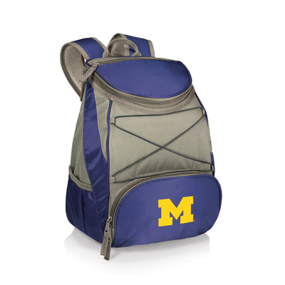 Michigan Wolverines Insulated Backpack PTX | Picnic Time | 633-00-138-344-0