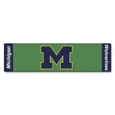 Michigan Wolverines Putting Green Mat | Fanmats | 9075