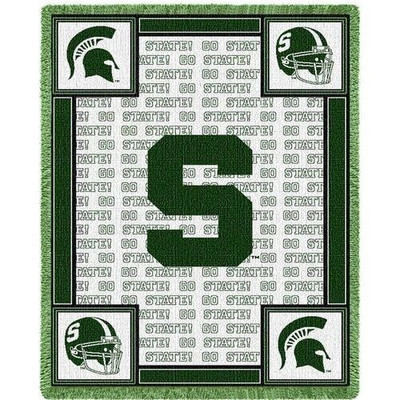 MSU Spartans Logo Stadium Blanket | Pure Country | 1475-A