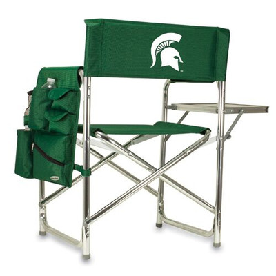 MSU Spartans Sports Chair | Picnic Time | 809-00-121-354-0