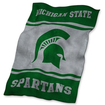 MSU Spartans Ultrasoft Blanket | Logo Chair | 172-27