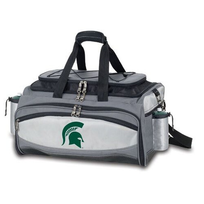 MSU Spartans Vulcan Portable Gas Grill | Picnic Time | 770-00-175-352-0