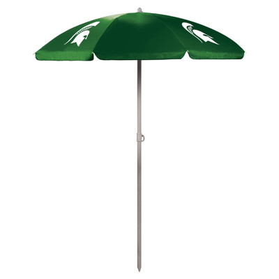 MSU Spartans Beach Umbrella | Picnic Time | 822-00-121-354-0