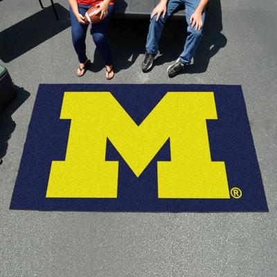 Michigan Wolverines Tailgate Mat Rug | Fanmats | 3410
