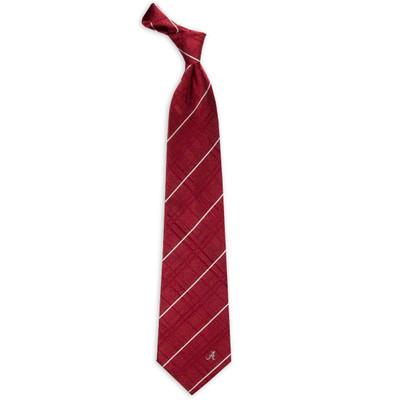 Alabama Crimson Tide Oxford Woven Silk Tie | Eagles Wings | 4800