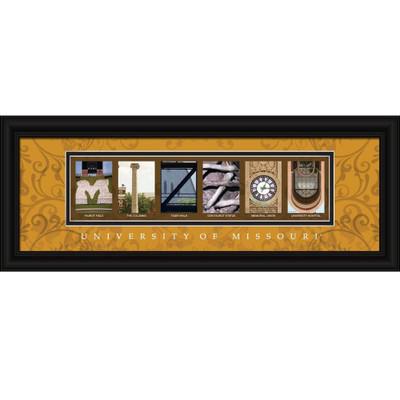 Missouri Tigers Letter Art | Get Letter Art | CLAL1B18MISR